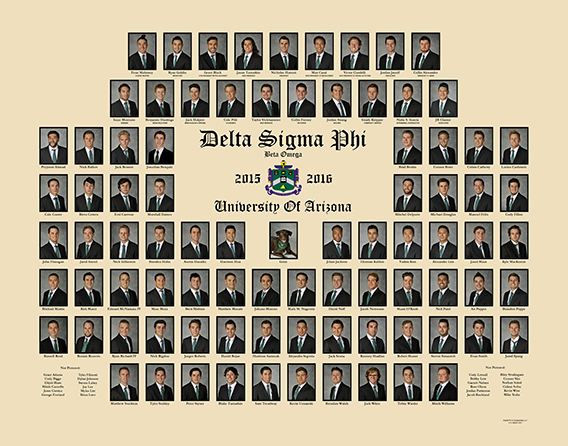 Fraternity Composites And Fraternity Photography